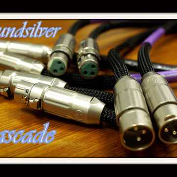 Soundsilver Cascade XLR-  Limited Edition- 1 meter pair...