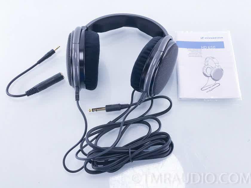 Sennheiser Hd650 Reference Class Headphones 2393 Over