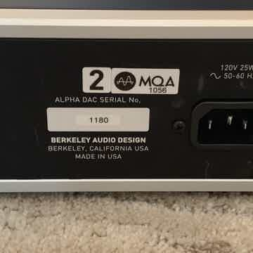 Berkeley Audio Design Alpha DAC Reference Series 2