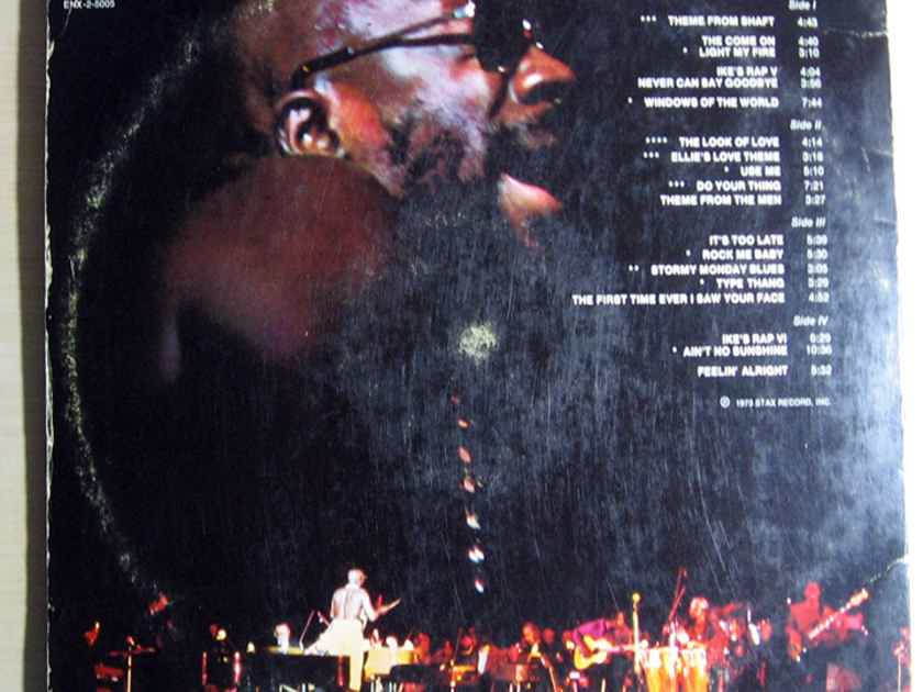 Isaac Hayes - Live At The Sahara Tahoe 1973 EX+ Double Vinyl LP Enterprise Records ENS-2-5005