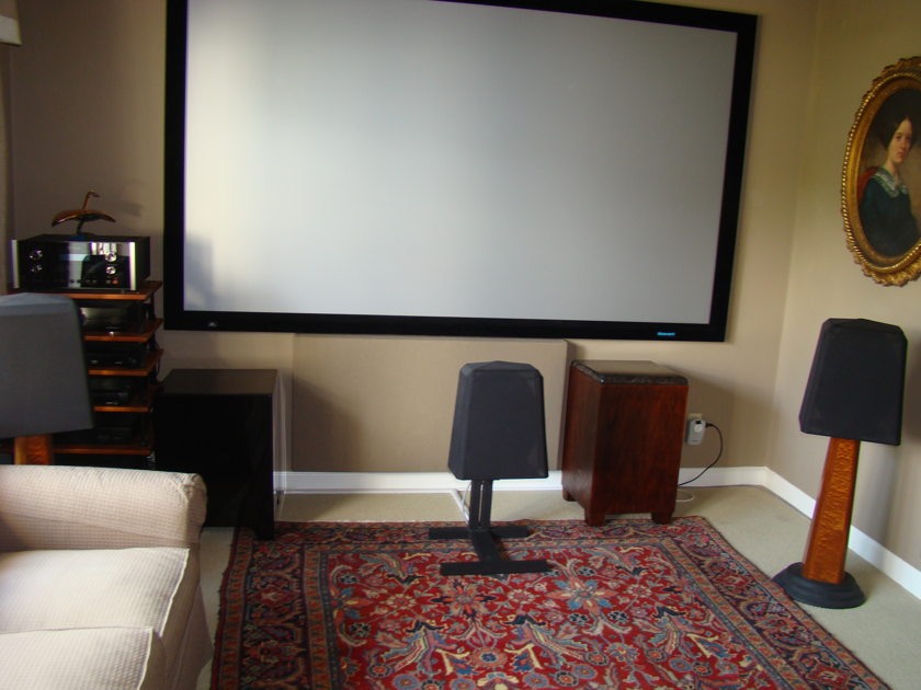 Waveform Mach MC Complete Home Theater Speaker System with Stands and Mounts