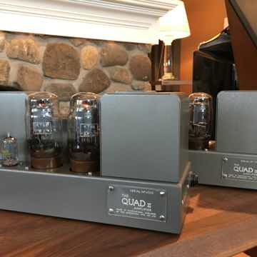 Quad II Monoblock Amps, RestoMod, 15 Glorious Watts