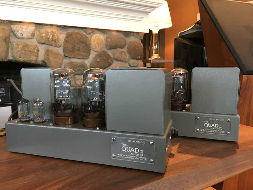 Quad II Monoblock Amps, RestoMod, 15 Glorious Watts