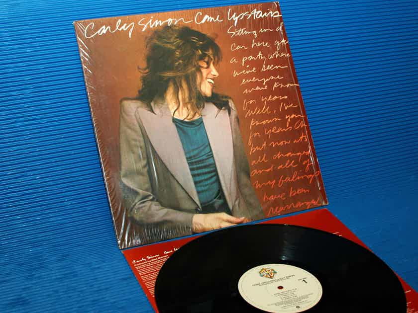 """CARLY SIMON  - """"Come Upstairs"""" -  Warner Bros. 1980 1st Pressing mastered by R Ludwig"""
