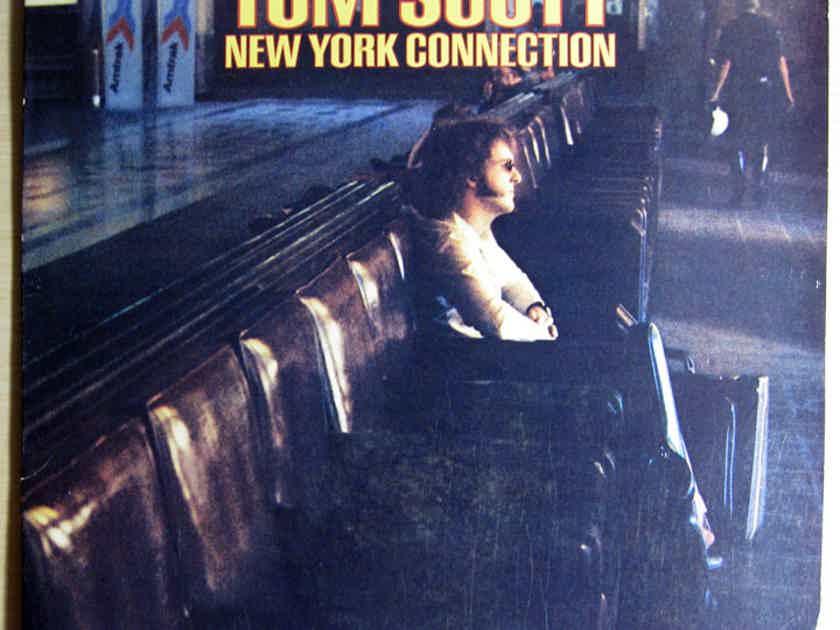 Tom Scott - New York Connection 1975 EX+ Vinyl LP Ode Records SP 77033