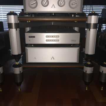 Aesthetix Calisto Eclipse Vacuum Tube  Preamp and Power Supply Excellent Condiotion As New