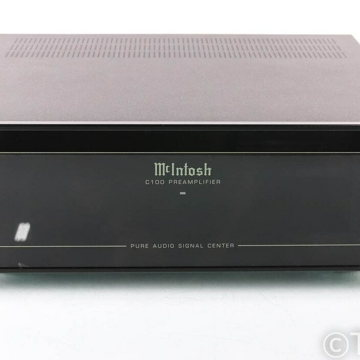 McIntosh C100A Stereo Preamplifier