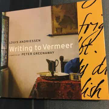 Louis Andriessen Peter Greenaway Writing to Vermeer Cd set Soprano