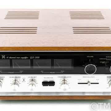 Sansui QS-500 Vintage 4 Channel Rear Amplifier