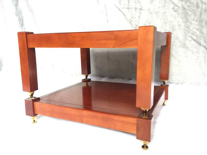 (2 shelves) 100% natural ash wood shelves handcrafted for holding amplifiers Mcintosh , accuphase , Altec vv... (2 shelves)