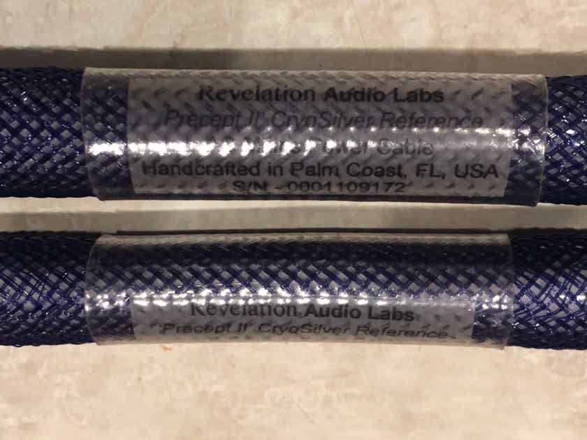 Revelation Audio Labs Precept CryoSilver™ Reference A/C Mains cable