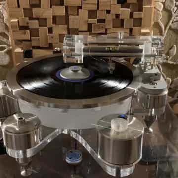 Wayne's Audio Turntable Periphery Outer Ring Clamp SS-1...