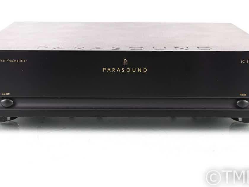 Parasound Halo JC3+ MM / MC Phono Preamplifier; Less Than 1 Year (19965)