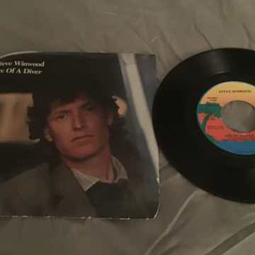 Steve Winwood Promo 45 With Picture Sleeve Vinyl NM  Ar...