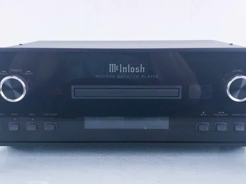 McIntosh MCD550 SACD / CD Player Remote; MCD-550 (14243)