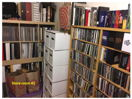 "7"" singles, LP's, CD (rack #2), box sets"
