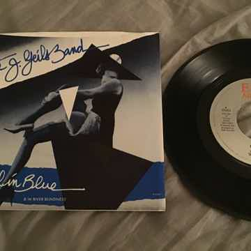 The J. Geils Band Angel In Blue 45 With Picture Sleeve