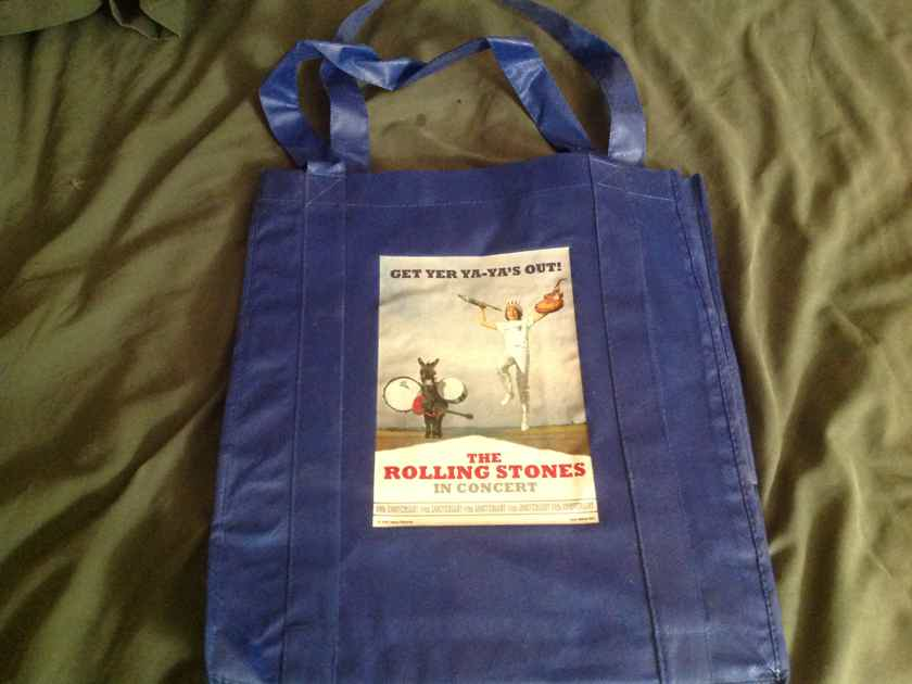 Rolling Stones  Get Yer Ya Ya's Out! Promo LP Tote Bag
