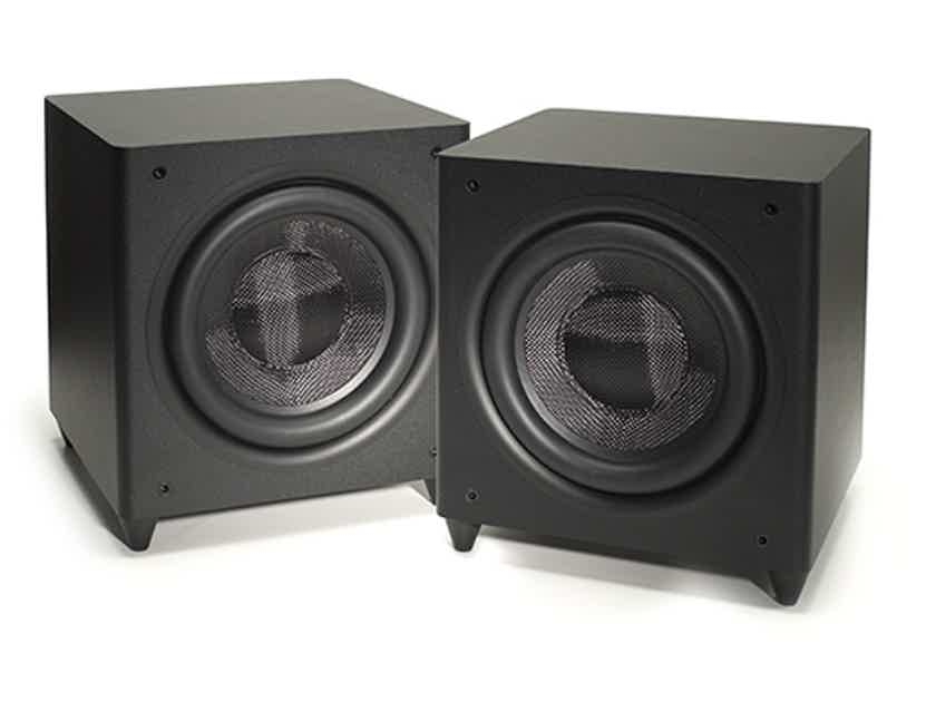 Syzygy SLF-820 Two wireless subs with room correction