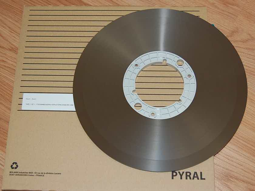 Reel Tape 2 TRACK 15IPS..........RUSH