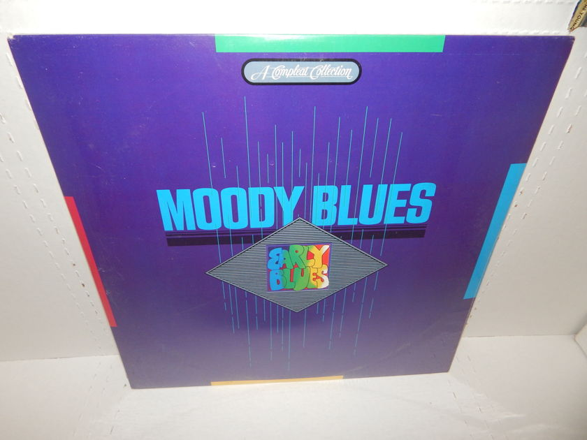 MOODY BLUES EARLY BLUES  - 1985 A Compleat Collection Double LP Compilation Brand New SEALED MINT RARE