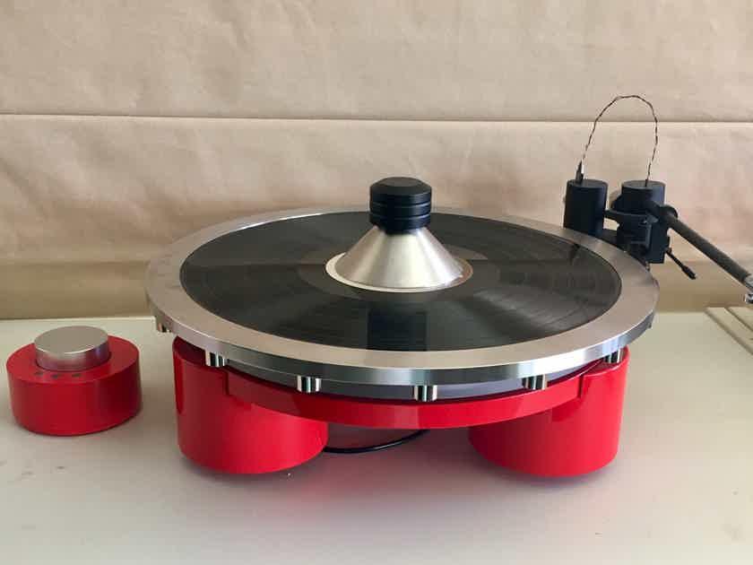 Holiday Sale!! Wayne's Audio WS-2 Record Stabilizing Clamp Center Weight LP Stabilizer VPI Sota Linn Rega Hanss