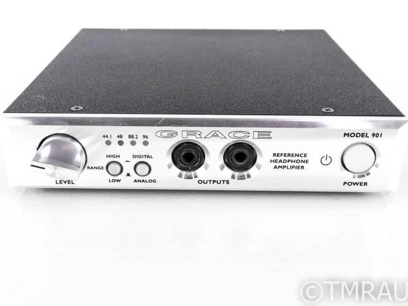 Grace Design Model 901 Headphone Amplifier / DAC; D/A Converter (20852)
