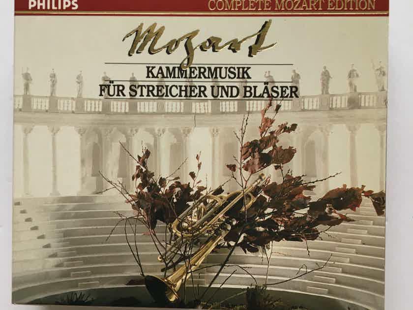 Mozart complete Mozart edition Philips  Cd set Kammermusik fur streicher und Blaser 1991