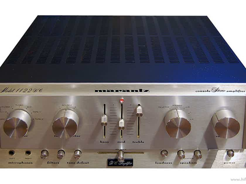 Marantz 1122DC Stereo Console Amplifier (Silver): Excellent Trade-In; 90 Day Warranty