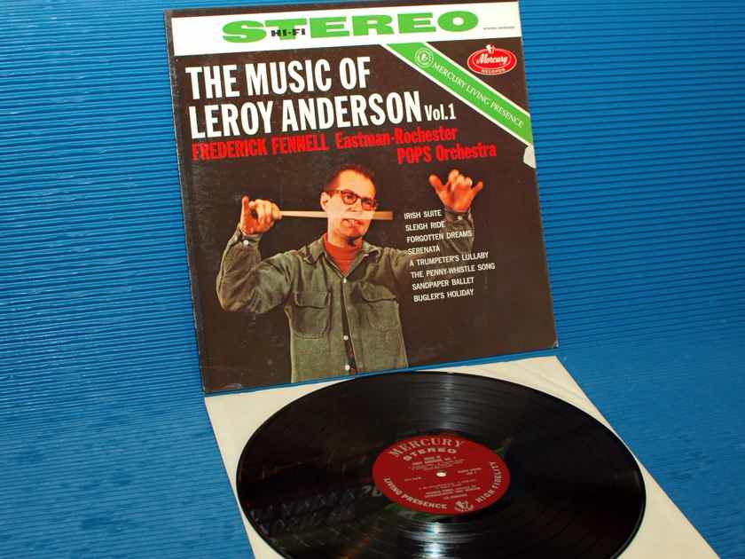 "ANDERSON / Fennell  - ""The Music of Leroy Anderson Vol 1"" -  Mercury Living Presence 1960's"