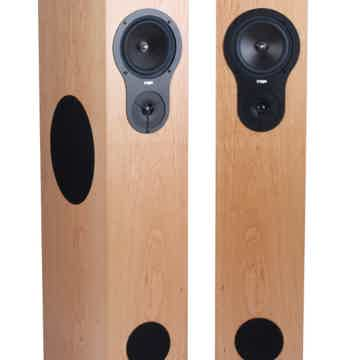 REGA RX5 Floorstanding Speakers (Cherry, Black Ash): NE...