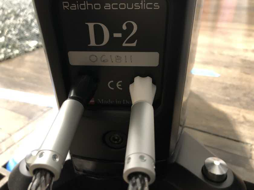Raidho D2 - Beautiful Piano Black - Customer Trade-In!!!