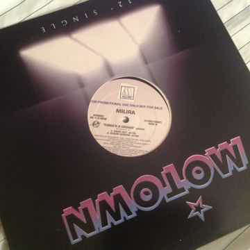 Milira Three's A Crowd Motown Records Promo 12 Inch Sin...