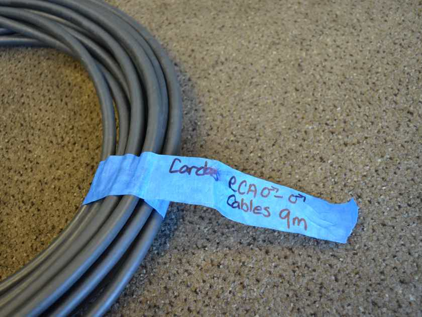 Cardas Audio Golden Reference RCA Cables 9M/29.5ft