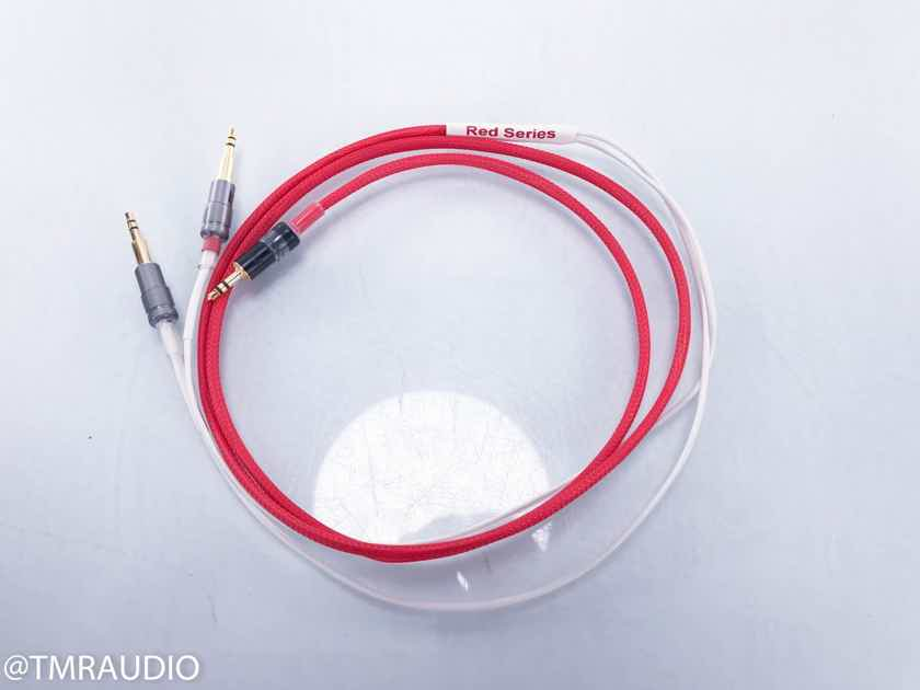 WyWires RED Series 3.5mm Headphone Cable 5ft; 3.5mm Headphone Plugs (2/2) (13042)