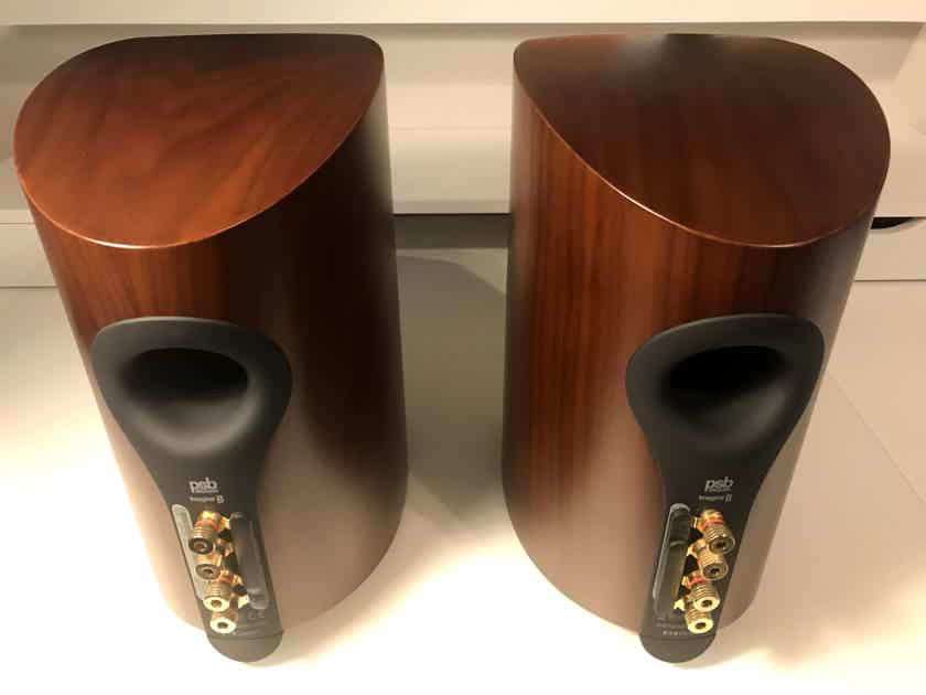PSBImagine Bused PSB Imagine B Bookshelf Stand Speakers In Walnut