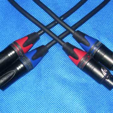 10 Audio Mogami XLR 1 meter pair