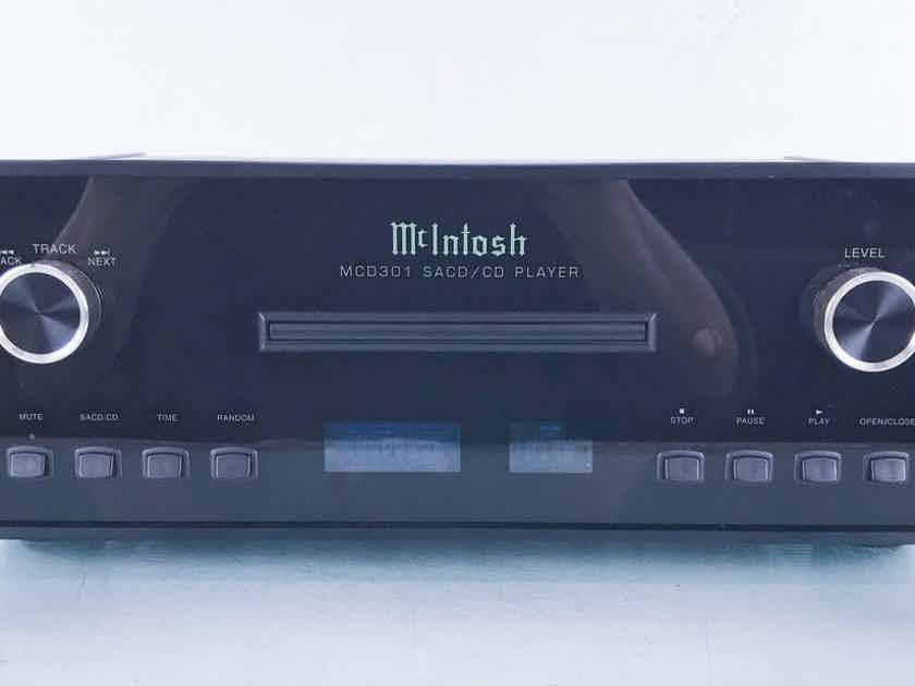 McIntosh MCD301 SACD / CD Player MCD-301 (15264)