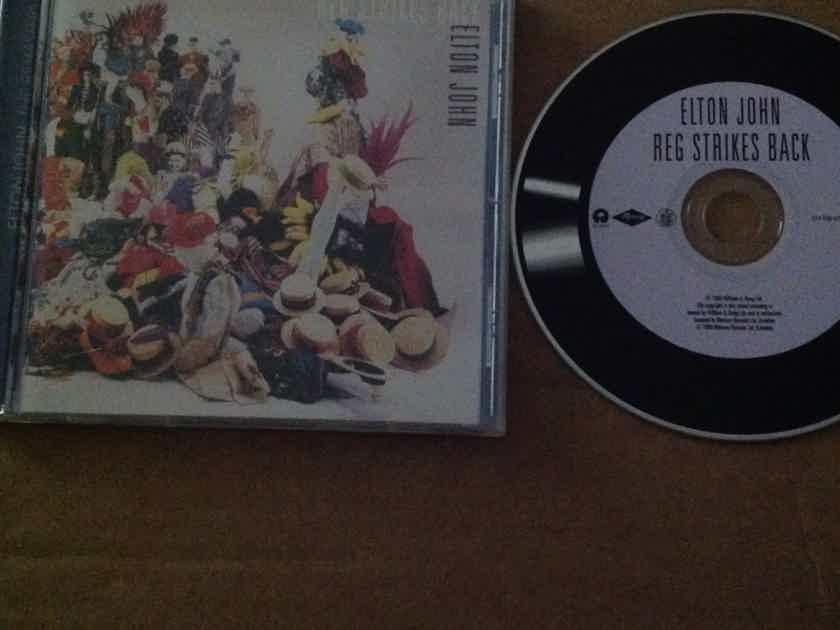 Elton John - Reg Strikes Back Rocket Island Records Compact  Disc