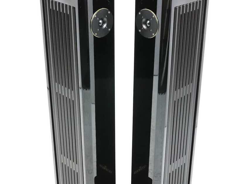 Brodmann Festival F2 Floorstanding Speakers; Gloss Black Pair; F-2 (26998)
