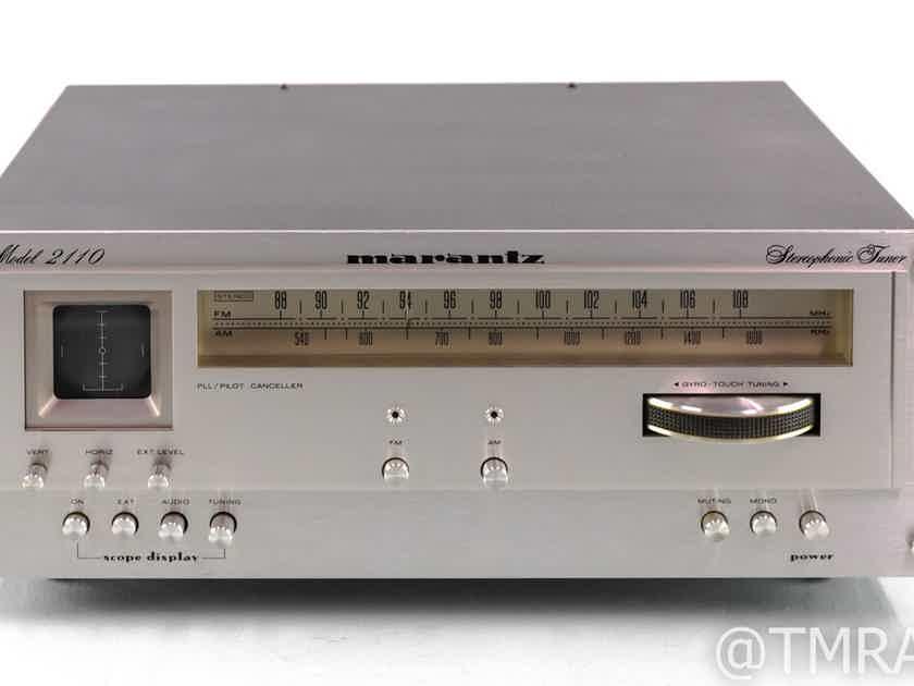 Marantz Model 2110 Vintage Stereo AM / FM Tuner; Upgraded (28657)