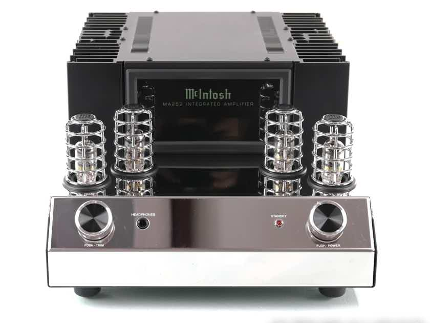 McIntosh MA252 Stereo Tube Hybrid Integrated Amplifier; MA-252; MM Phono; Remote (28859)