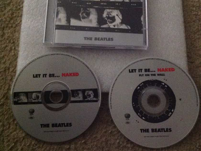 The Beatles - Let It Be...Naked 2 Compact Disc  Set Apple Records