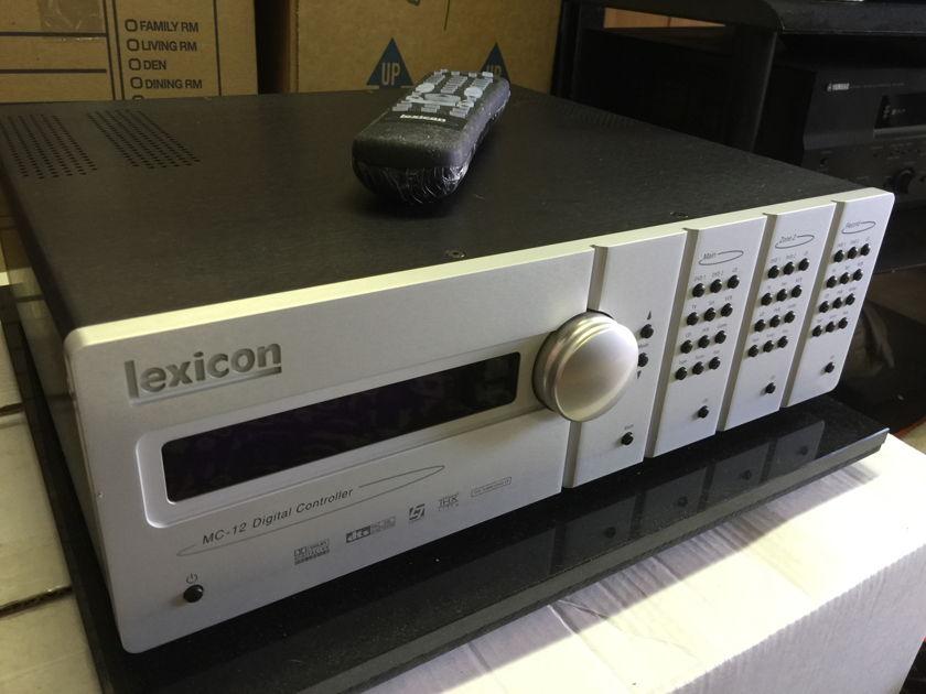 Lexicon MC-12 Pre/Processor - NICE!