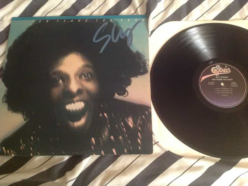 Sly Stone  Ten Years Too Soon Epic Records