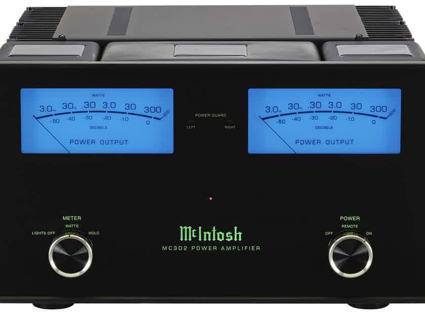 McIntosh MC302 2-Channel Power Amplifier, New-In-Box