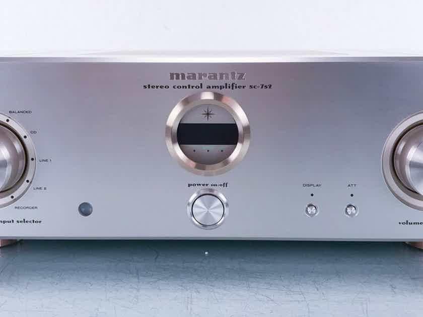 Marantz SC-7S2 Stereo Preamplifier SC752; Remote (15115)