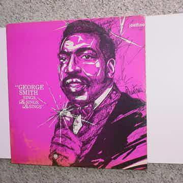 SEALED George Smith sings & sings & sings lp record JOELFINA M300 COVER AS IS