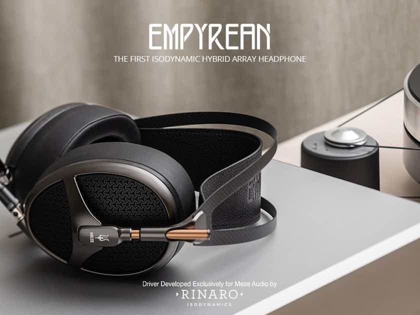 Meze Audio Empyrean audiophile sound & incredible craftsmanship!