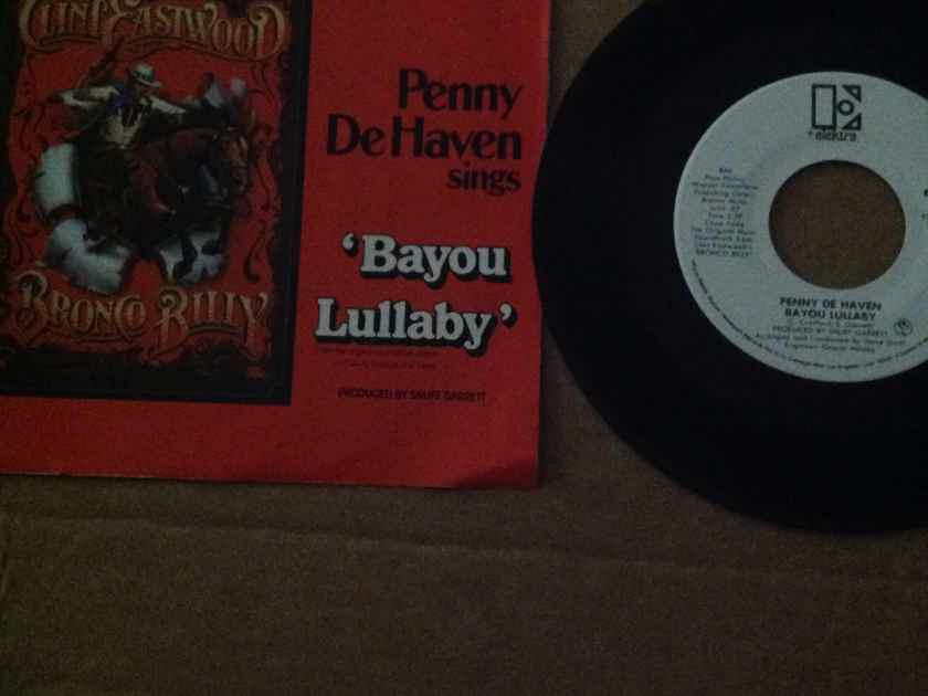 Penny De Haven - Bayou Lullaby Elektra Records Promo 45 Single Mono/Stereo Vinyl NM